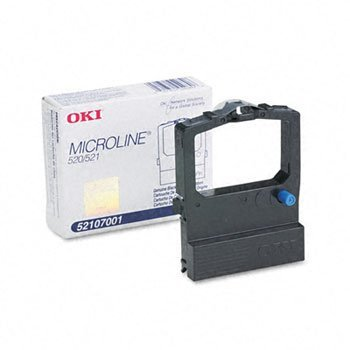 Oki® 52107001 Ribbon RIBN,ML520/1,BK 88650 (Pack (Ml520 Ribbon)