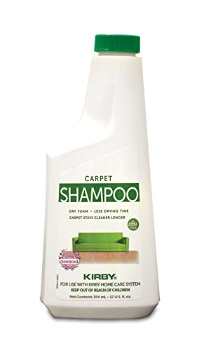Control Allergen Carpet (Kirby 252602S Allergen Control Formula Foaming Carpet Shampoo, 12 Oz)