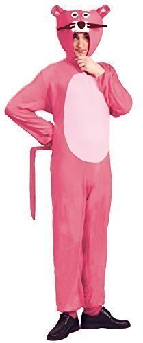 Mens Ladies Pink Panther 1970s Animal Cartoon Film Festival Fancy Dress Costume Outfit Size Large by Fancy Me