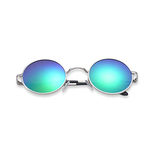 Sakuldes Green Protección de Sol Color clásicas de polarizada UV Blue Gafas Moda r7xTqpWrwa