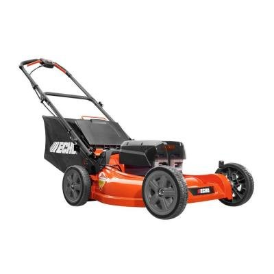 Echo 21 in. 58-Volt Lithium-Ion Walk-Behind Brushless Cordless Mower with 2-Batteries by Echo