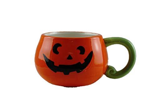 Halloween Themed Coffee Mugs (Jack-O-Lantern Ceramic Halloween Coffee)