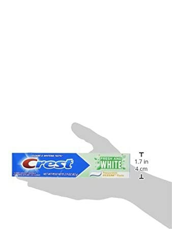 Amazon.com: Crest Fresh and White Toothpaste 2.9oz (Formerly Gleem) - 5 Pack: Beauty