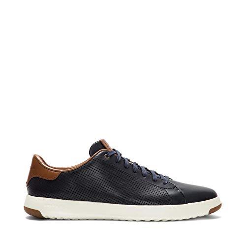 Cole Haan Men's Grandpro Tennis Sneaker 10 Navy Handstained Leather from Cole Haan
