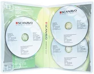 Dragon Trading - Caja para 3 Discos Scanavo CD/DVD/BLU Ray (22 mm ...