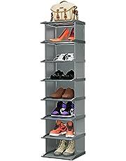JENDEHO 8-Tier Stackable Shoe Rack