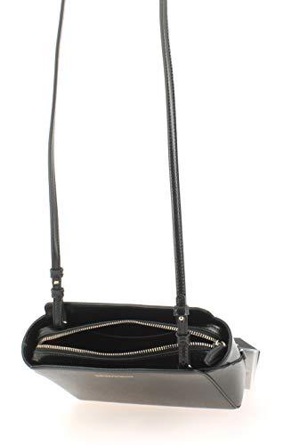 Handbag Emporio Armani Negro Negro Mujer Logo Grain fpprdqIxw