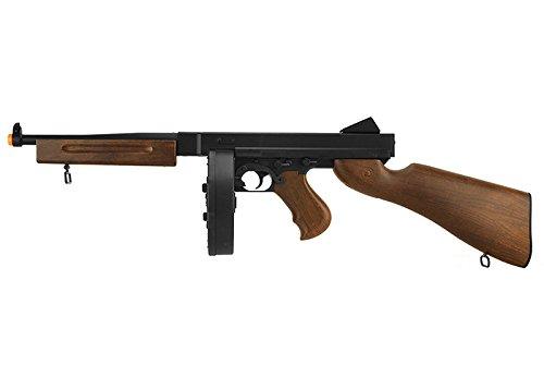 - Well D98 M1A1 WW2 SMG AEG Airsoft Gun