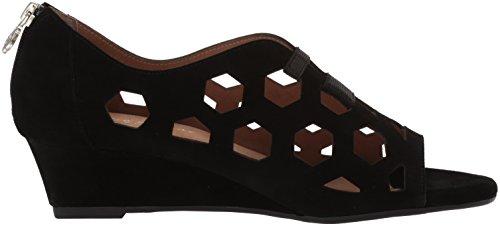 Sandalia Negro Sean para Mujer Muller Bettye de cuña gFxEE7n