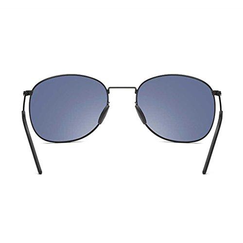 Hombres Coolsir Gafas polarizadas de Sol Retro los Protector Conducción Sol Pesca de Ligero Providethebest Metal Gafas de 1 Frame Solar de Eyewear 8d78wq