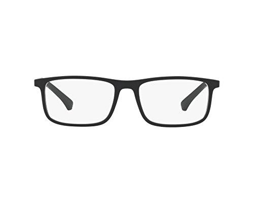 Emporio Armani frame (EA-3125 5063) Plastic Matt Black - - Designs Emporio