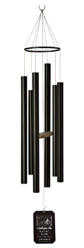Grace Note Chimes 3MB 42-Inch Himalayan Echo Wind Chimes, Medium, Black
