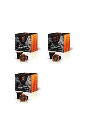 5HTP Vita Coffee Keurig Pods - Infused With Essential Vitamins 5HTP, Magnesium, B12, B9, B6, B1, C - Dark Roast Keurig Compatible Single-Serve 16 Pack - K Cups use Gourmet Beans & Taste Great