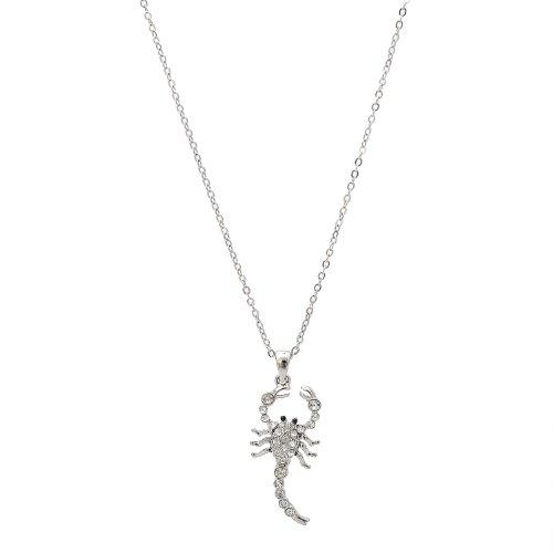 Buy silver scorpion necklace