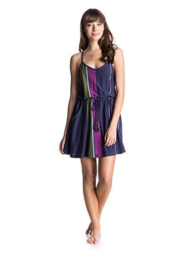 Roxy Juniors Pelican Point Tank Knit Dress, Astral Aura Sets Stripe, Medium