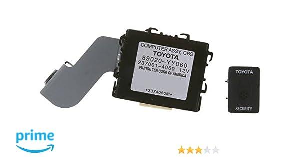 amazon com genuine toyota accessories 08586 0c890 rs3200 plus rh amazon com Toyota Security System Gentex Smoke Detectors Manual