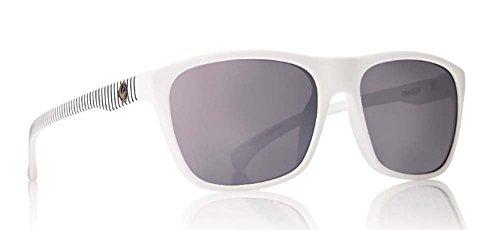Dragon Alliance White Stripe/Silver Ion Carry on - Sunglasses White Dragon