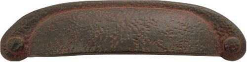 Hardware Rustic Iron (Hickory Hardware P3004-RI 3-Inch Refined Rustic Pull, Rustic Iron)