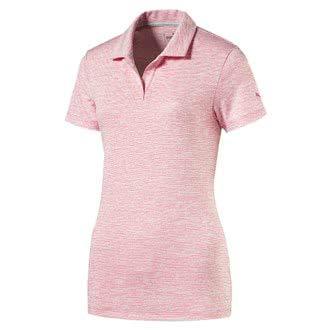 Puma Space Dye - Polo para Mujer, Color Gris y Rosa: Amazon.es ...