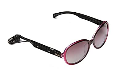 LBATS Smart Glasses Bluetooth Headset Lady's Fashion GM002 (Gray)
