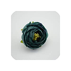 Artificial Flower 1pcs/lot Bride with Wrist Flower Camellia Hand Made Home Decorative Wedding Simulation Flower 25