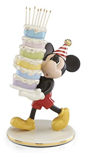 Lenox Mickey Bakes a Cake Figurines 6.5 Inches