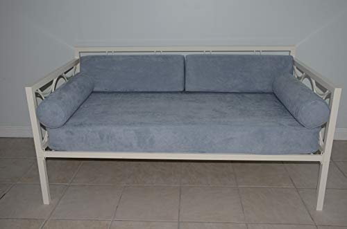 micama Daybed Matching Fitted Twin Size Cover Set. Twill Denim.