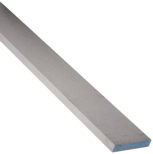 A2 Tool Steel Rectangular Bar, Air Hardened/Annealed/Precision Ground, Precision Tolerance, ASTM A681, 1/8'' Thickness, 2-1/2'' Width, 18'' Length by Starrett
