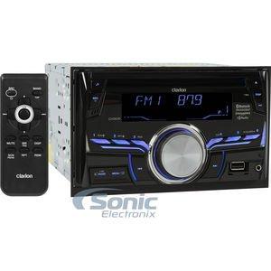 Clarion CX505 2-Din HD Radio/Bluetooth/CD/USB/MP3/WMA Receiver (Clarion Car Radio compare prices)