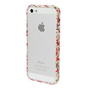 YXF Small Fresh Florals Series Bumper Frame for iPhone 5/5S , H