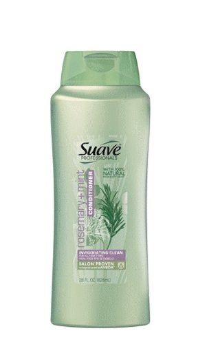 Suave Professionals, conditioner, rosemary mint, 28oz (Pack of 2) - Suave Professionals Rosemary