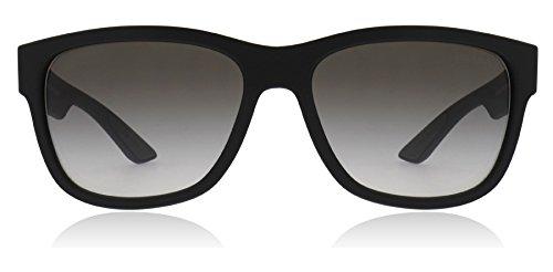 Prada Linea Rossa Men's 0PS 03QS Black Rubber/Grey ()