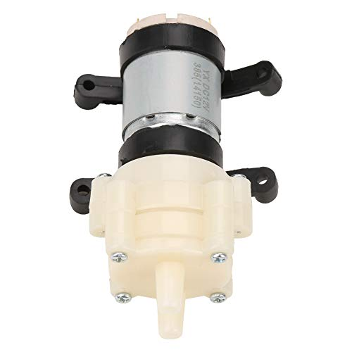 Diaphragm Pump, DC 12V Electric Diaphragm Pump, 0.5-0.7A Mini Water Pump, Suitable for Tea Machine, Water Cooling, Fish Tank, Etc