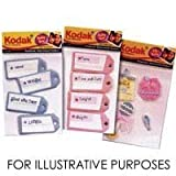Kodak Dimensional Self Adhesive Stickers - Baby Boy Tag Assortment
