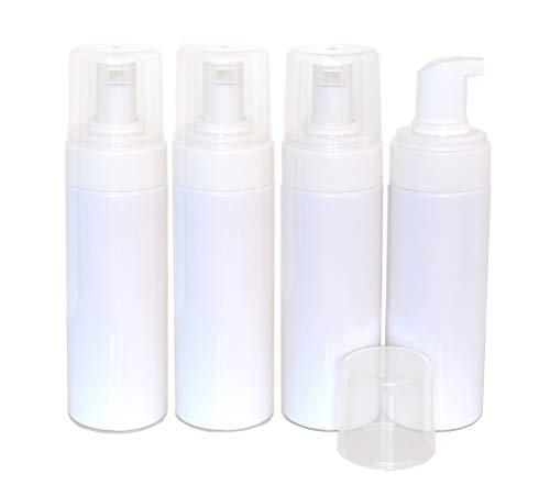 Foaming Dispensers for Castile Liquid Soap, 150ml (5 oz) - Pack of 4