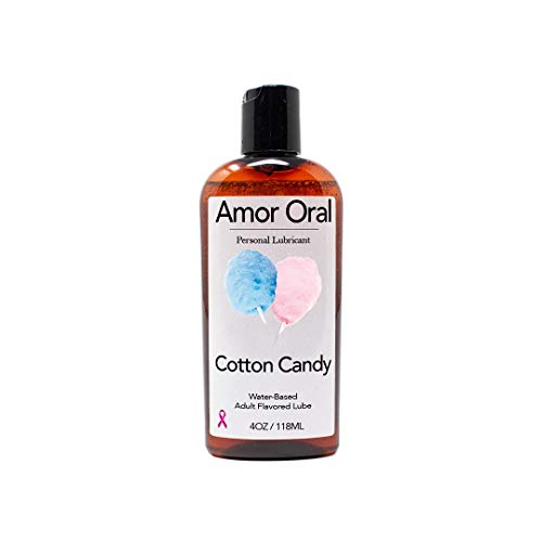 Cotton Candy Flavored Lube – Edible Personal Lubricant