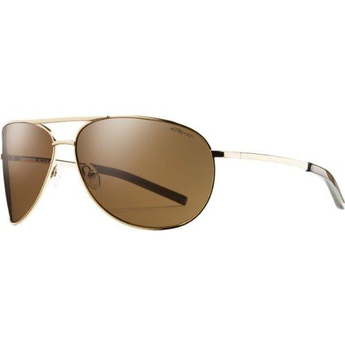 Smith Optics Serpico Sunglasses (Gold with Polarized Brown - Optics Smith Polarized Serpico
