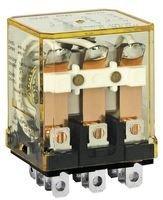 IDEC RH3B-ULAC120V POWER RELAY, 3PDT, 120VAC, 10A, PLUG IN
