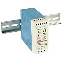 DIN-rail voeding 60W 24V 2,5A; MeanWell, MDR-60-24; DIN-rail voeding