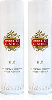 - 2x Imperial Leather SILK LADIES WOMEN Anti-Perspirant Deodorant Spray 150ml by Imperial Leather