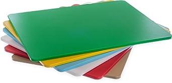 "Carlisle 1088600 6-Piece Sparta Spectrum Cutting Board Assortment Pack, Assorted Colors, 18"" x 24"" x 1/2"""