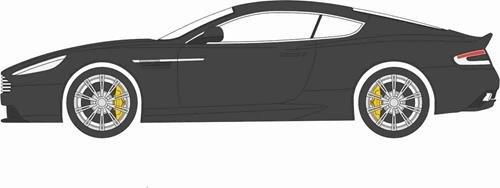 Martin Db9 Aston Coupe (Aston Martin Db9 Coupe, Black, Rhd, 0, Model Car, Ready-made, Oxford 1:43)