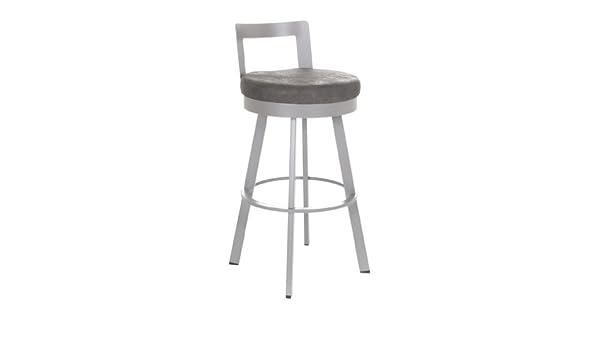 Brilliant Amazon Com Blake Swivel Stool In Platina Metal Bar Stool Short Links Chair Design For Home Short Linksinfo