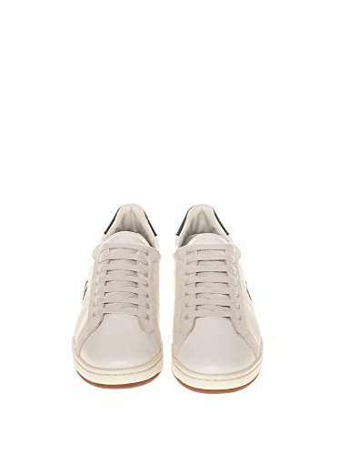 With Men's Sneakers Perry Β722 White Men's Green Details Fred bianco YwqTOSx
