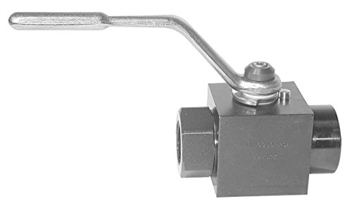 Parker Hannifin BVHP16SSS1N Parker Hannifin - BVHP16SSS1N - Standard Handle Hydraulic Ball Valve with SAE #16 Port Size