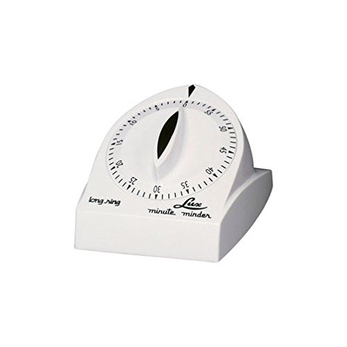 - Lux Minute Minder Long Ring Timer Mechanical White 60 Min