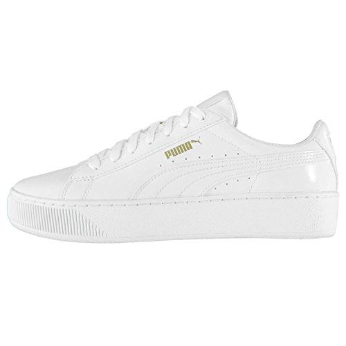 plate Baskets Brevet forme Chaussures Baskets de femme Sports Sneakers Puma Officiel pour Blanc 5nBqgAx