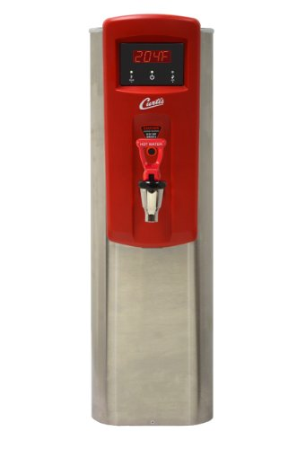 "Wilbur Curtis Hot Water Dispenser 5.0 Gallon  Narrow, 18.63"" Faucet Height - Commercial Hot Water Dispenser with Digital Control Module - WB5N (Each)"