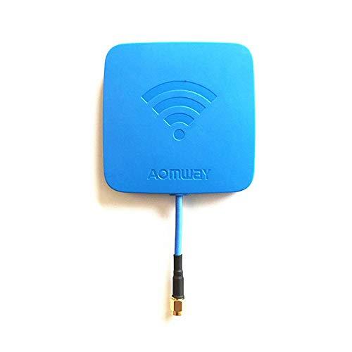 Aomway 5.8GHz 14dBi High Gain Flat FPV Receiver Antenna(SMA Male)