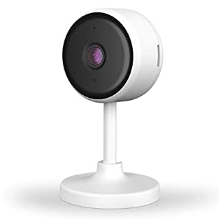 Littlelf Indoor Security Camera, WiFi Home Camera with Smart Night Vision/2 Way Audio/Motion Detection, Wireless IP Camera for Baby/Pet/Nanny Monitor, Works with Alexa, Support TF Card/Cloud Storage